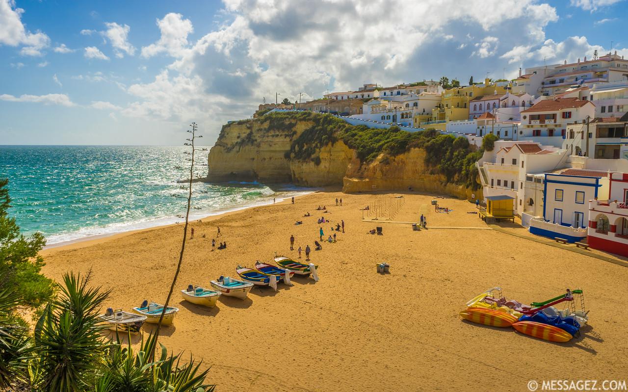 Algarve Carvoeiro Beach Photography Messagez.com